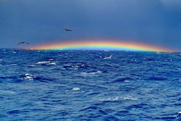 rainbow at Bermuda Triangle